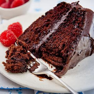 Super Moist Chocolate Mayo Cake.