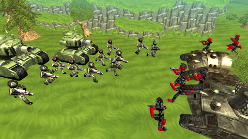 Stickman Tank Battle Simulator 1.06 screenshots 4