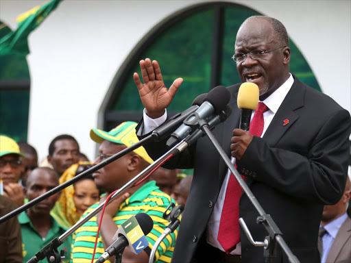 Tanzania's President John Magufuli.