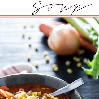 Pasta E Fagioli (Soup)