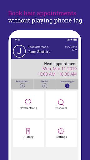 HairHoncho: Client App 1.6.0 screenshots 1