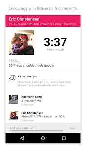 SugarWOD- screenshot thumbnail