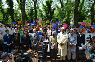 Photo: Truly historic moment for the New York American Muslim community