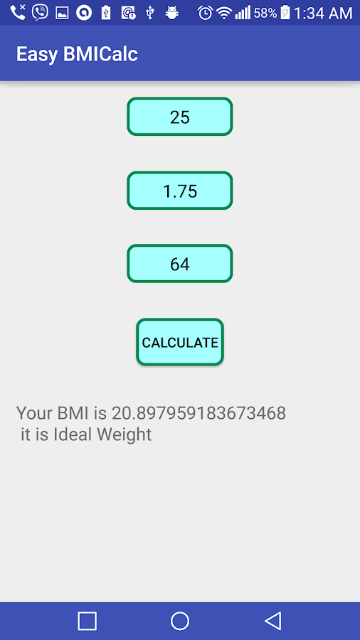 how to calculate my bmi manually
