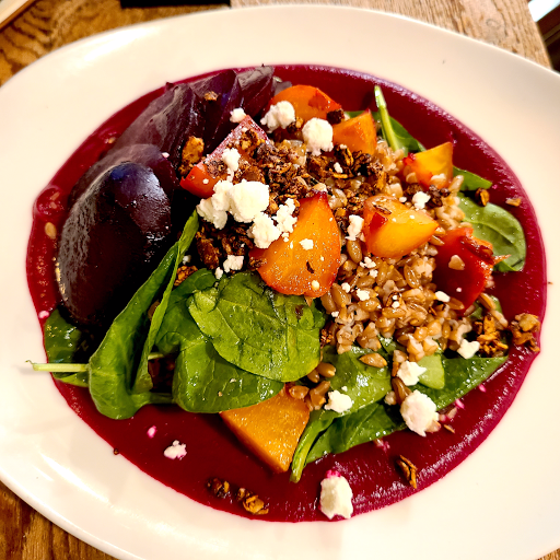 Roasted Beet and Farro Bowl