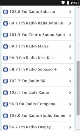 Radio Italy 1.02 screenshot 1372790