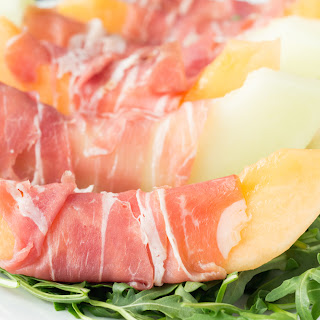 Prosciutto, Melon, and Burrata Salad