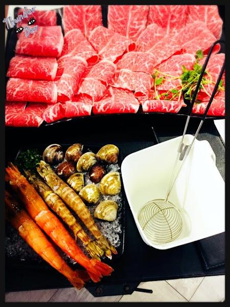餐點多多-沸騰 Boiling Shabu Shabu 《天冷來個鍋系列》來挑戰比臉還大的肉盤吧