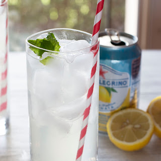 Lemon Basil Cooler + Basil Simple Syrup Recipe