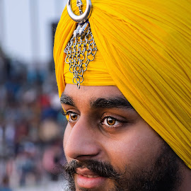 Nihang Singh by KP Singh - People Portraits of Men ( warrior, nihang, india, gatka, ludhiana )