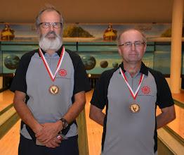 Photo: Senioren-Doppel – 3. Platz: Helmuth Neugschwandtner/Gerhard Rath (BV OÖ1)