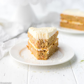 Low Carb Keto Carrot Cake.