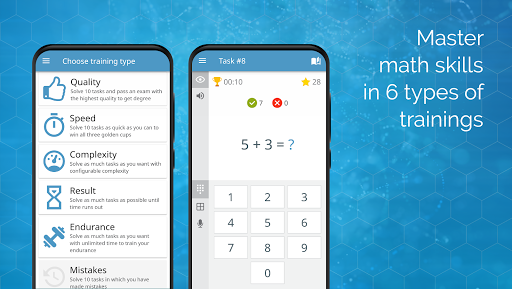 Math games: arithmetic, times tables, mental math screenshots 9