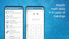 screenshot of Math games: arithmetic, times tables, mental math