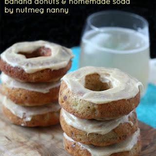 Banana Cinnamon Donuts