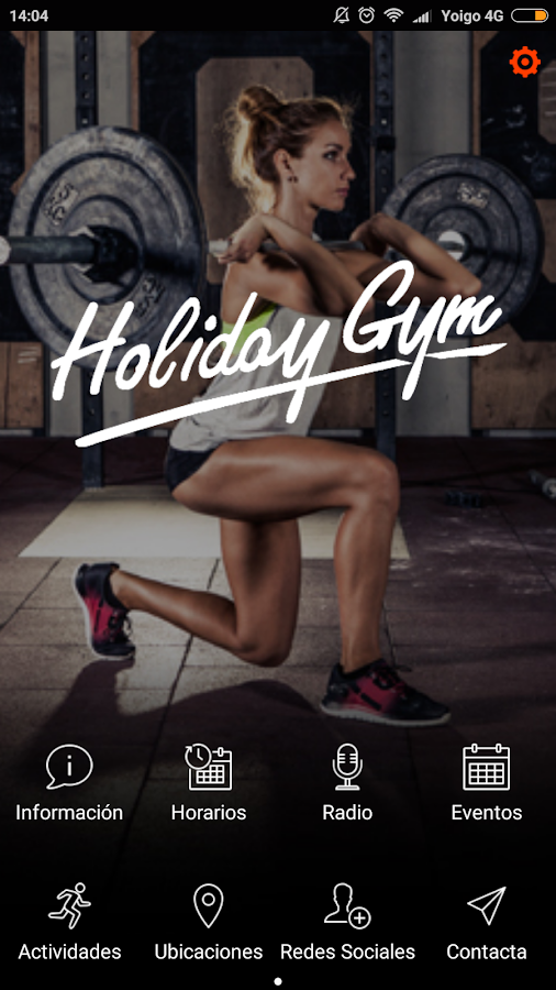 HOLIDAY GYM- screenshot