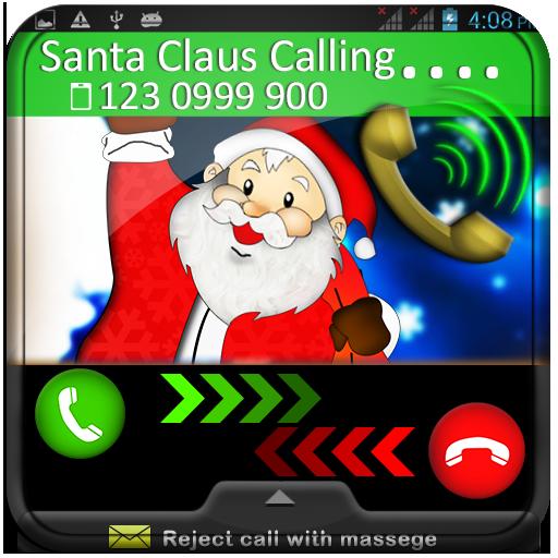 Santa Claus Calling Prank 娛樂 App LOGO-硬是要APP