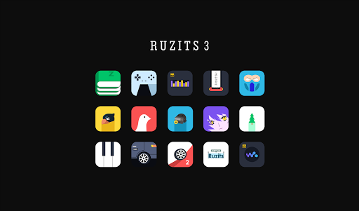 Ruzits 3 Icon Pack image | 3