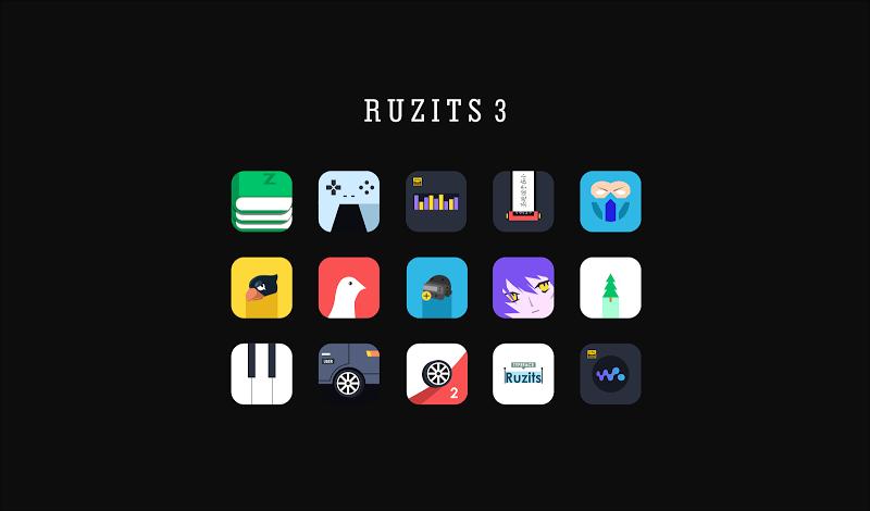 Ruzits 3 Icon Pack Screenshot 1