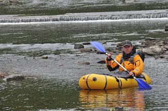Photo: Poland Trek. 1200km. 150km of Mountain trekking+ 50km of packrafting+1000km of kayak down the Vistula river. First Summit to Sea of Poland. 2012 Here Packrafting.