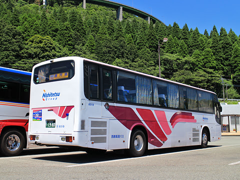 西鉄高速バス「桜島号」 6019 リア