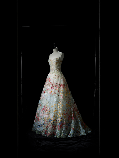 Christian Dior V&A Exhibit Petal Gown Spring/Summer 2017 Haute Couture