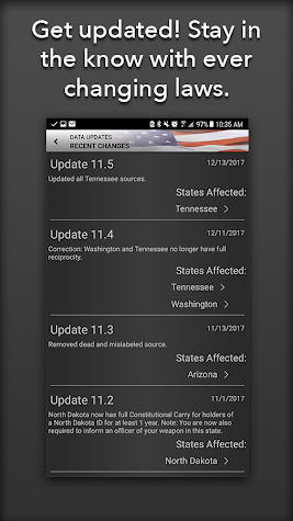 Concealed Carry App - CCW Laws Screenshot