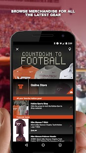 Virginia Tech HokieSports- screenshot thumbnail