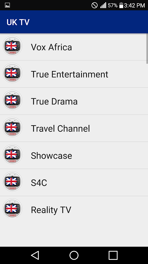 UK TV All Channels in HQ- screenshot