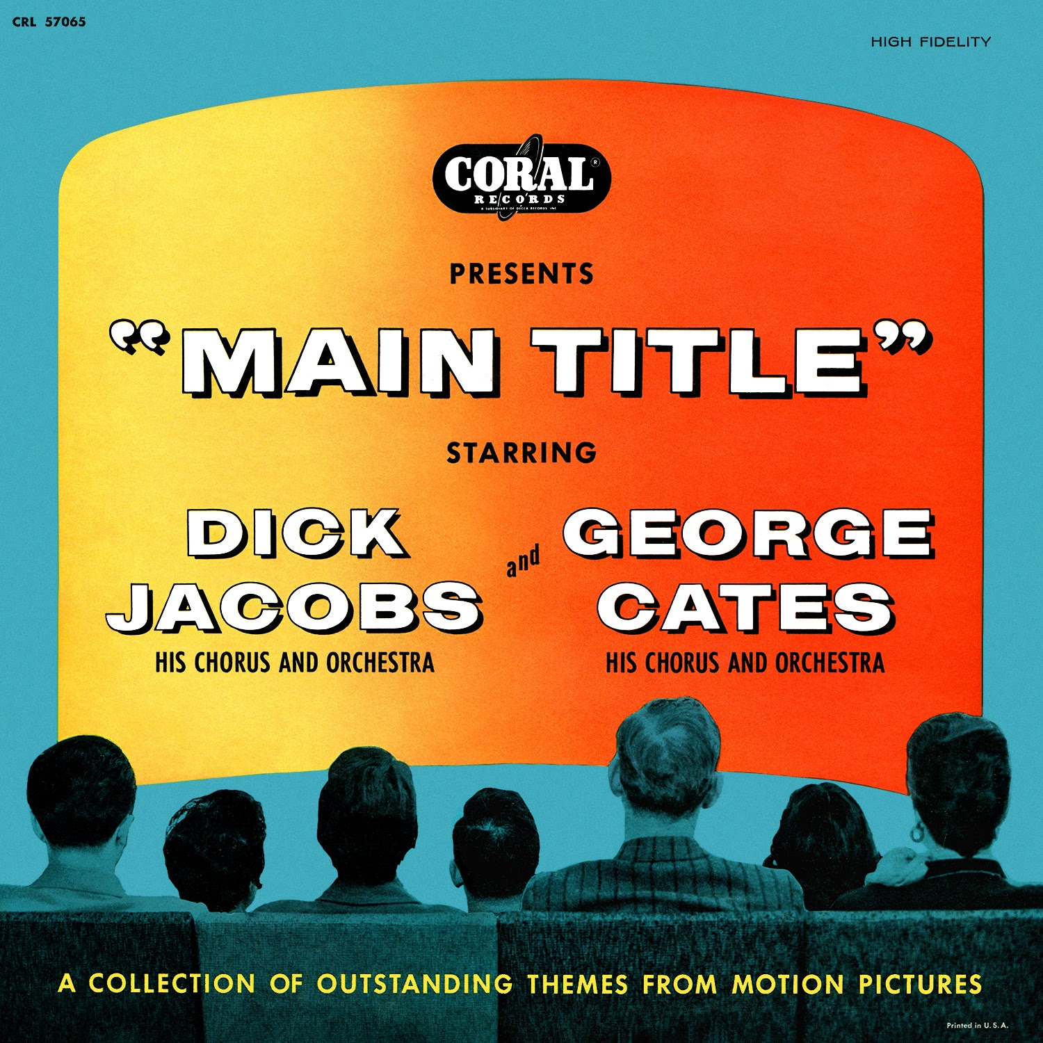 Dick Jacobs, George Cates