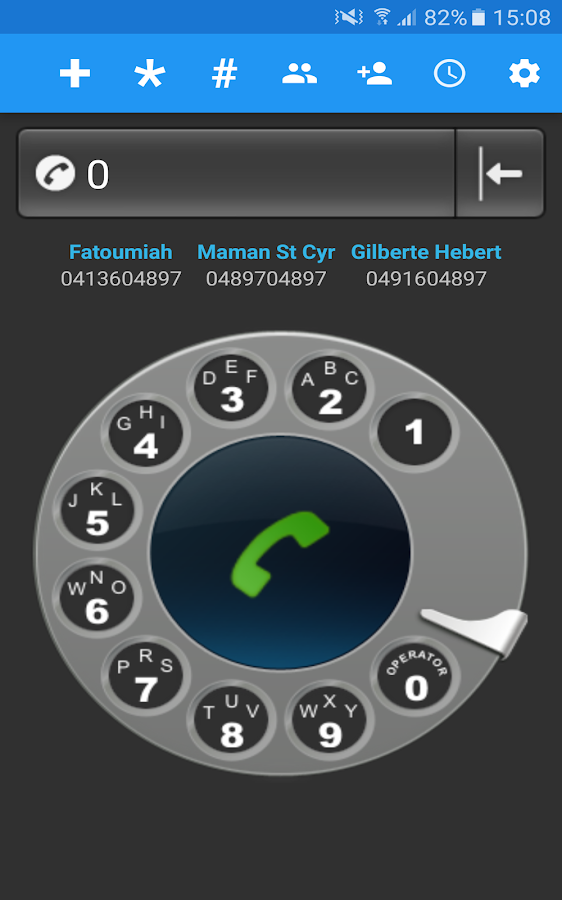 Old School Rotary Dialer- screenshot