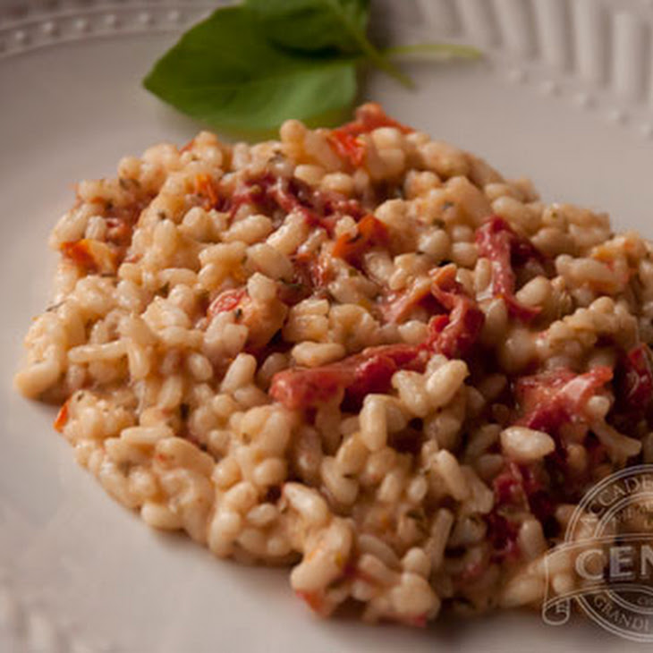 Sun Dried Tomato & Pesto Risotto Recipe | Yummly