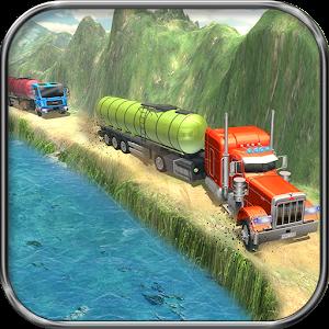 Oil Tanker Truck Driving Sim: Hill Side Transport