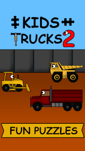 Kids Trucks: Puzzles 2 - Gold - náhled