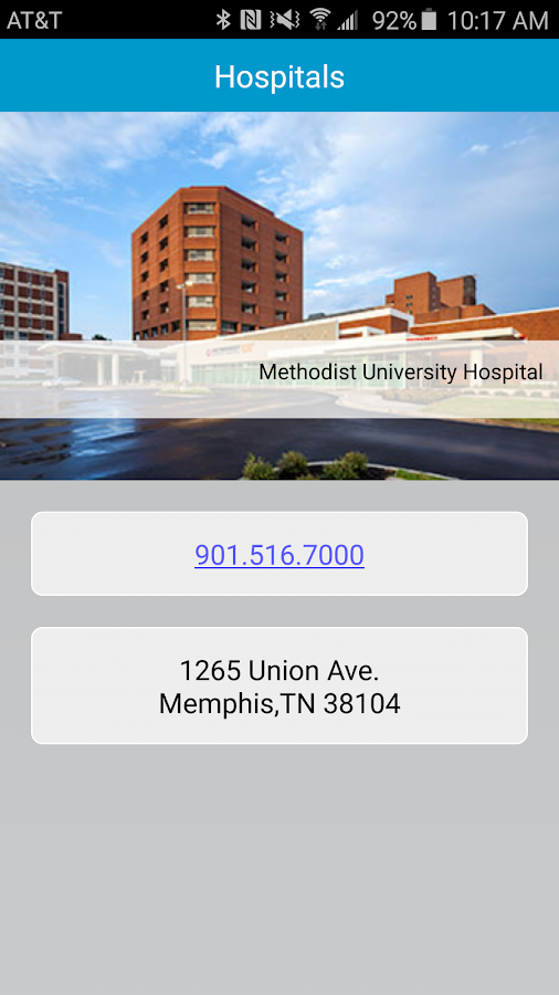 Methodist Healthcare- screenshot