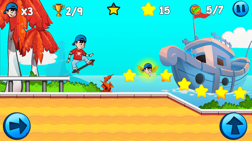 Skater Kid 7.1.22 screenshots 6