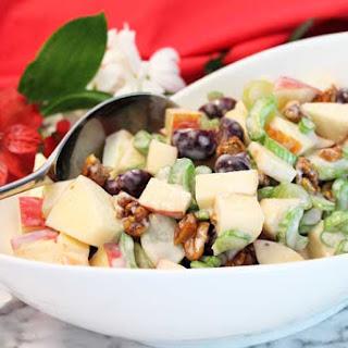 Healthy & Fruity Waldorf Salad.