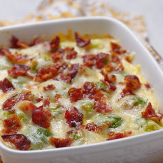 Brussel Sprout With Bacon And Cheese Recipes.