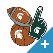 Michigan St. Spartans PLUS Selfie Stickers