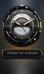 Munich HD Analog Clock Widget Screenshot