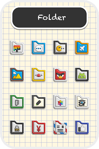 Poppin icon pack 1.7.5 screenshots 5