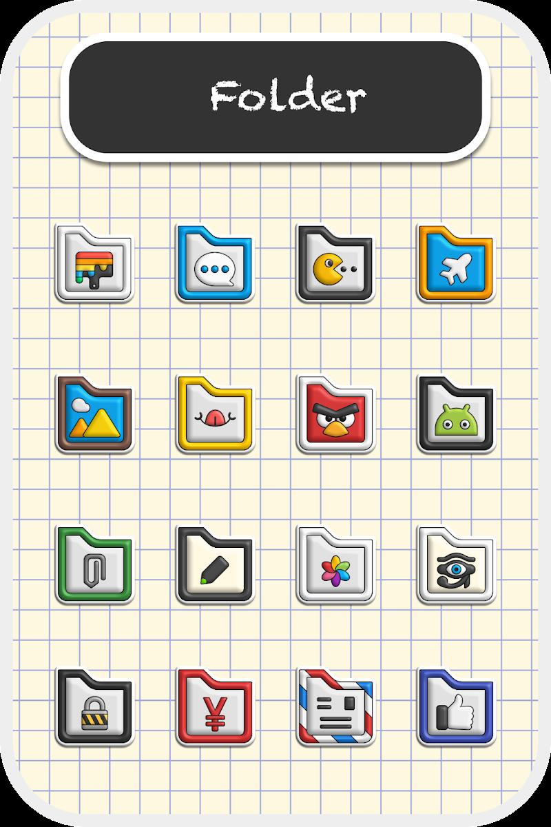 Poppin icon pack Screenshot 3