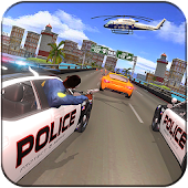 US Police Car : Highway Police Chase Crime Racing