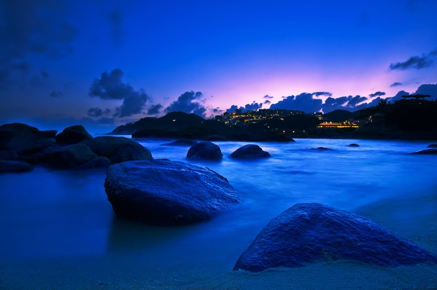 Blue Bayou by Giovanni MIrabueno - Landscapes Waterscapes