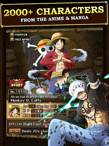 ONE PIECE TREASURE CRUISE 9.5.0 screenshots 2