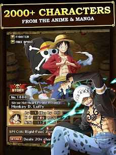 ONE PIECE TREASURE CRUISE Mod Apk Download For Android and Iphone 2