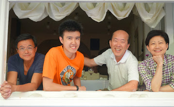 Photo: New friends from Singapore