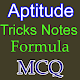 Download Aptitude Test Notes and formula For PC Windows and Mac