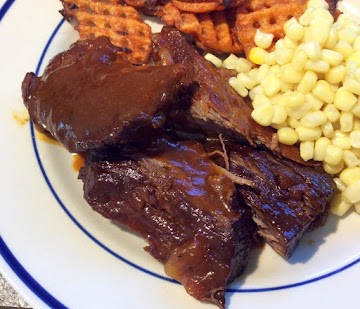 Pressure Cooker Barbecued Brisket Recipe