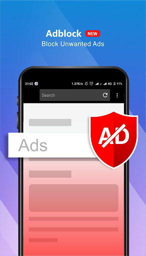 HS Browser Pro - Private and No Ads Browser screenshot 2